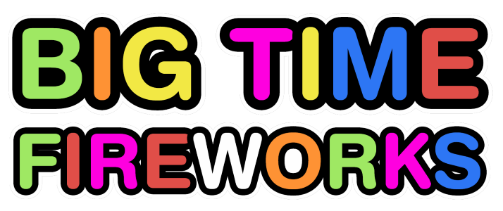 Big Time Fireworks Logo